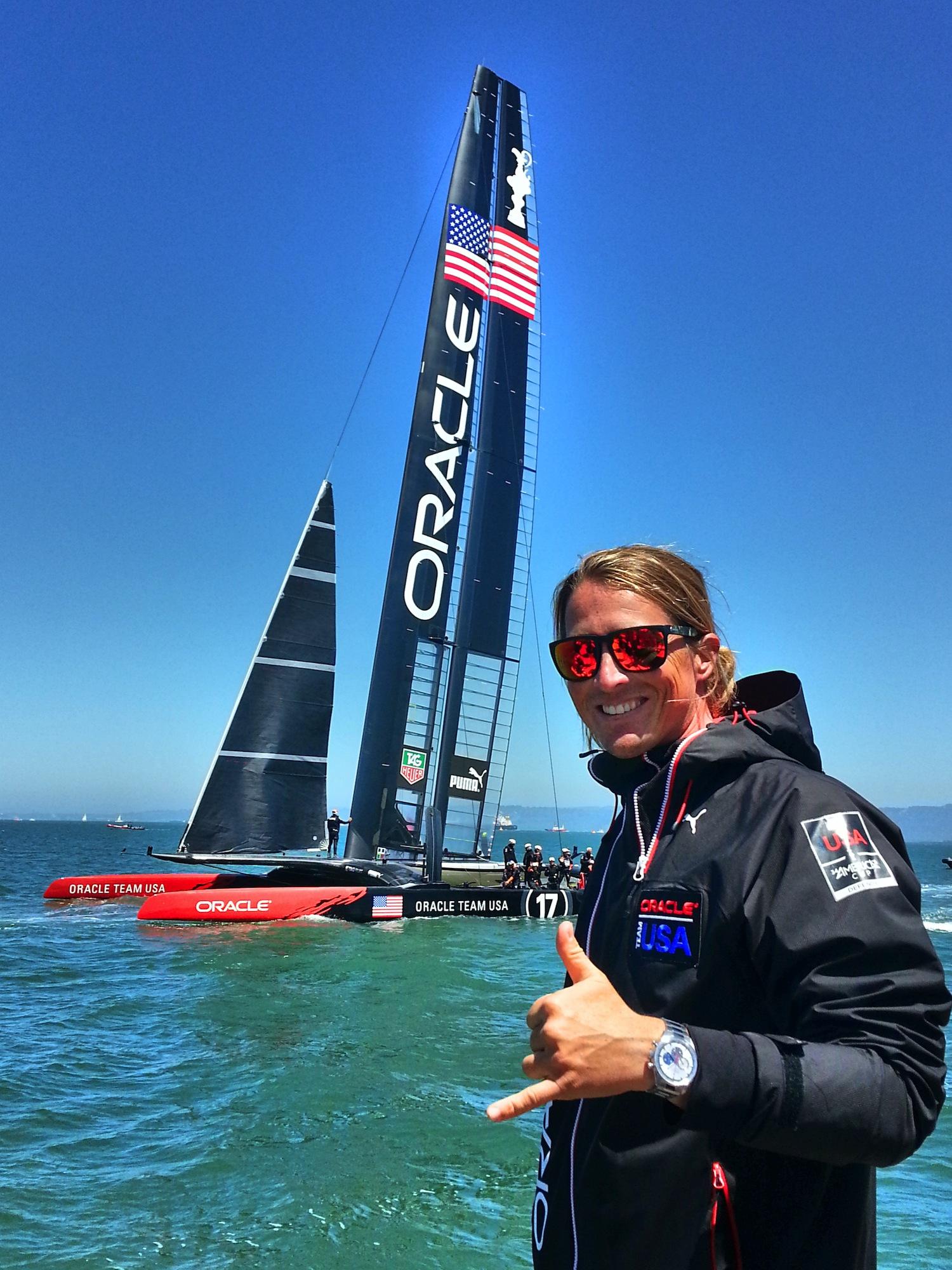 34ème Coupe de l'America - San Francisco avec Oracle - Crédit Photo : STAN DU ROURE