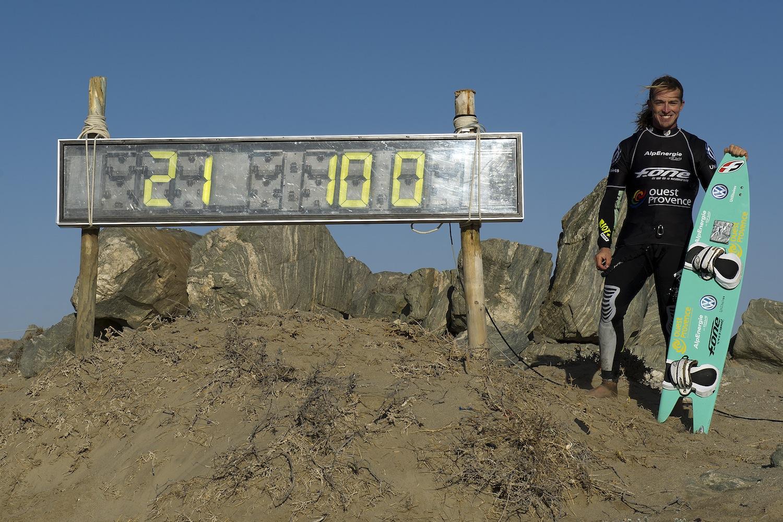 Record 100 Km/h - Crédit Photo : CRAIG KOLESKY / NIKON / SANDISK
